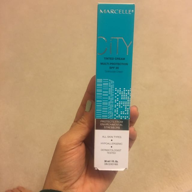 New Marcelle Tinted Cream