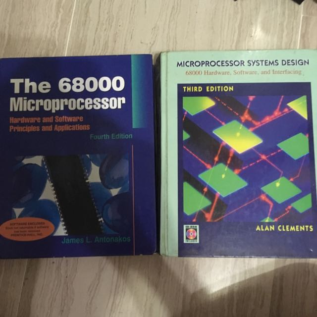 Used 68000 Microprocessor Textbooks Books Stationery Textbooks On Carousell