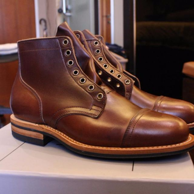 Viberg Service Boots Chromexcel 2030 Size 8