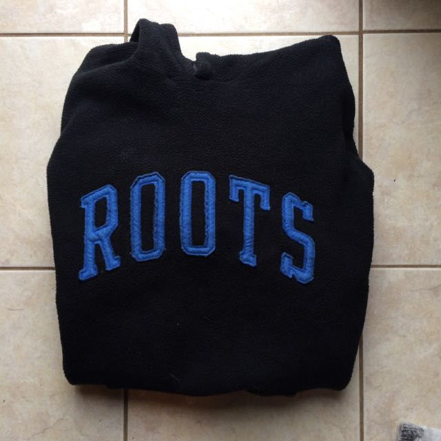 Vintage fuzzy Roots Sweater Hoodie