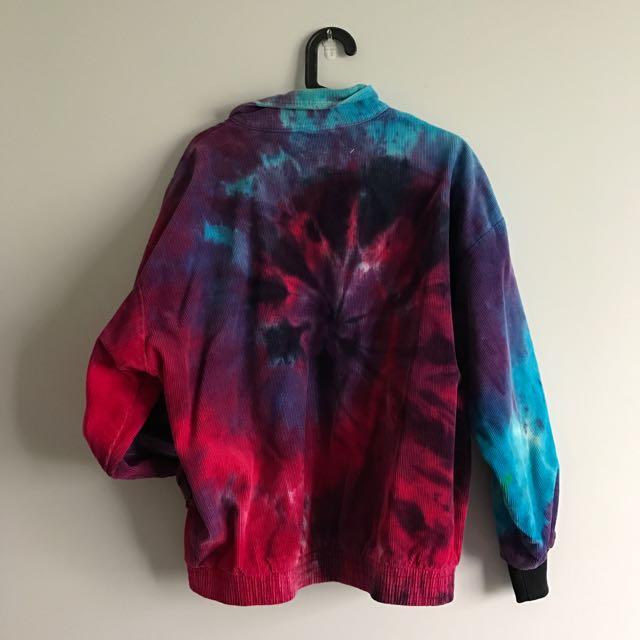 Vintage Tie-Dye Jacket