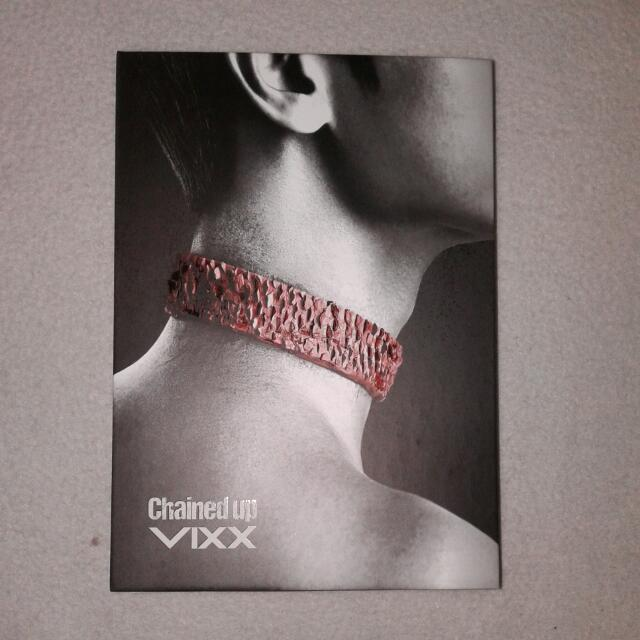 VIXX - Chained Up Album Control Ver.
