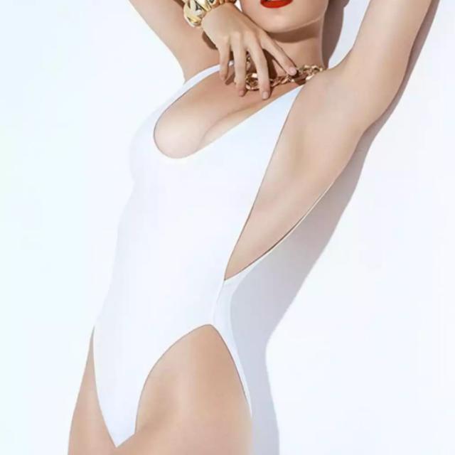 White Swimsuit Medium Size