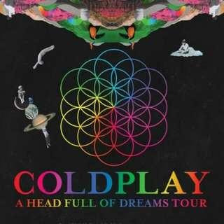 Ticket Coldplay @ NATIONAL STADIUM SINGAPORE