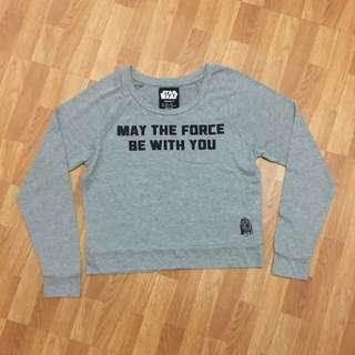 Forever 21 Starwars Grey Longsleeve Shirt