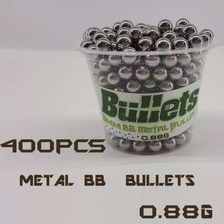 High Quality Metal BB Gun Bullets 6mm 0.88g 400pcs