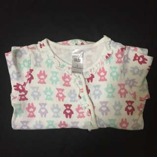 12-24m Baby Sleepsuit