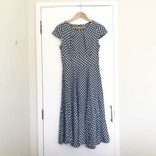 Polkadot Retro Dress