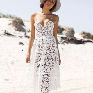 Madison Square Lucetta Lace Dress