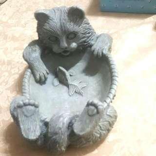 🚚 貓咪飼料盤
