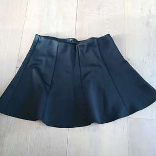 Black Bardot Skirt