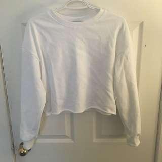 Oak+Fort Cropped Sweater