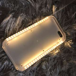 iPhone 6 Plus light Up selfie Case