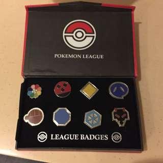 Johto league Badges