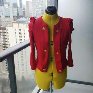 Red Seductions Light Jacket