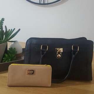 Colette Bag And Wallet Set
