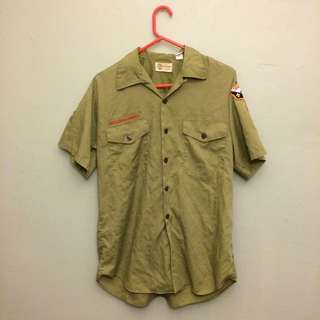 Authentic Boy Scouts Of America Uniform
