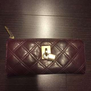 Marc Jacobs Purple Zippered Wallet