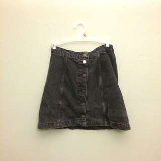 Top shop Moto Denim Skirt