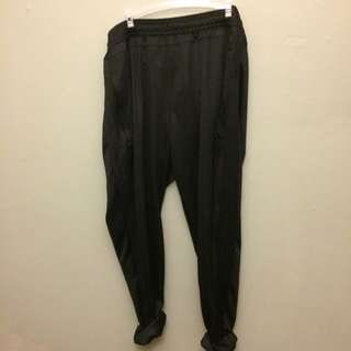 Adidas MAtte Black Climacool Trackpants