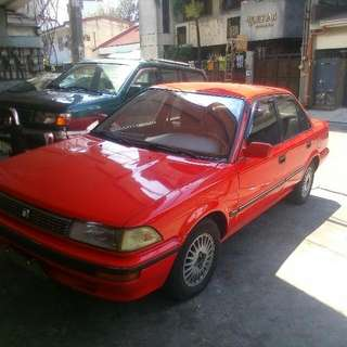 1992 Toyota Corolla Gl All Power Aircon Mags Registered Complete Papers Minor Retouch Sa Bumper