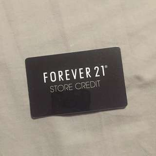 Forever 21 Store Credit