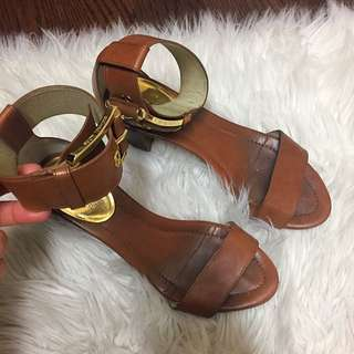 MK Leather Sandals