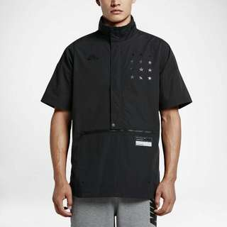Men's NIKE Air Short Sleeve Black Jacket
