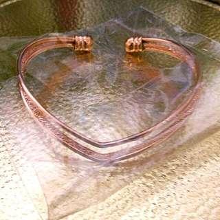玫瑰金手環
