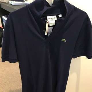 Lacoste Slim Fit Polo (Navy) Size FR 4/M