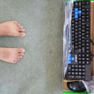 Hayley Gamers Mouse And Keyboard NEW