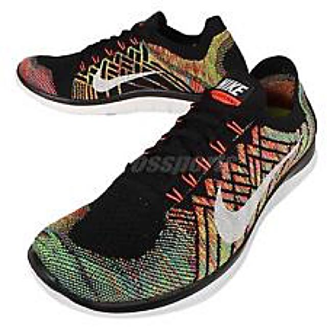 a853e72fab5 100% Authentic Nike Free 4.0 Multicolor Flyknit