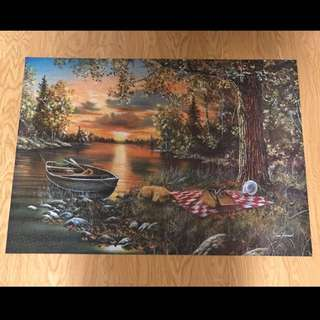 *Completed* 2000 Piece Puzzle