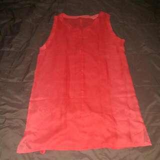 Dress Transparan