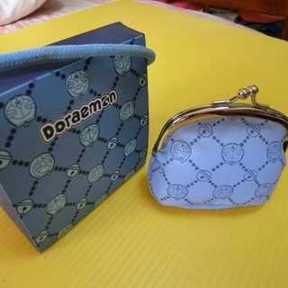 哆啦A夢 Doraemon 零錢包 附盒子