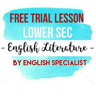Free Trial Lesson by English Specialist