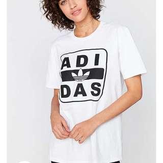 Adidas Originals Stenciled logo tee