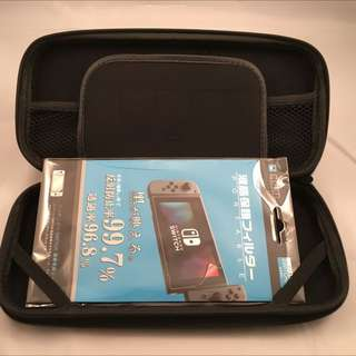 Nintendo Switch Carry Case With Screen Protector