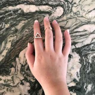 Arrow & Triangle Rings