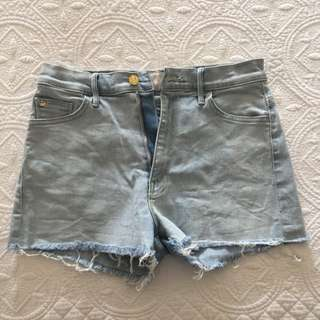 Mother Denim High Waisted Shorts