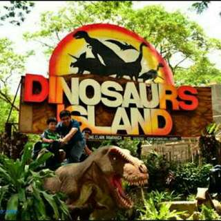 Dinosaurs Island Ticket❤