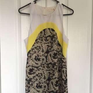 Don't Ask Amanda Paisley Shift Dress Size S (6-8)