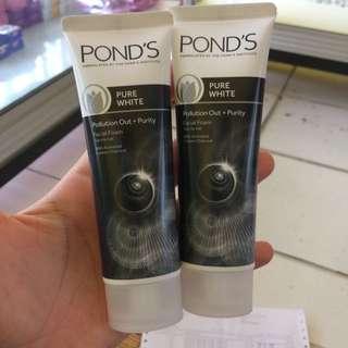 Ponds Pure White Facial Foam