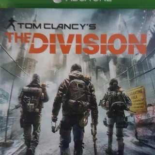 二手Xbox One DIVISION