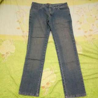 Celana Pencil Looks Like Jeans