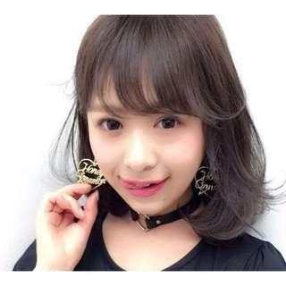 全新日系愛心耳環💖