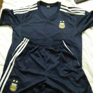 Argentina Football Kit ( Matching Jersey And Shorts)