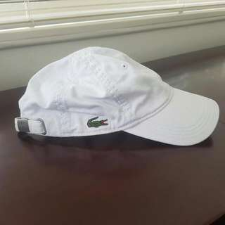 Authentic Lacoste Hat (White)