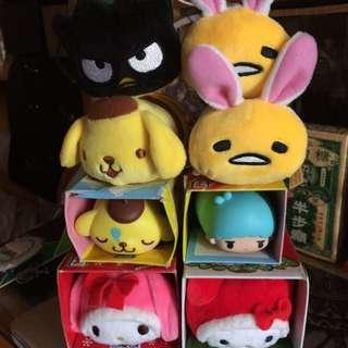 7-11 Tsum tsum 公仔 蛋黃哥 Hello Kitty 侵侵