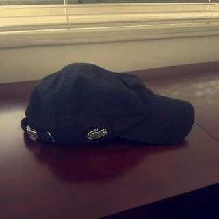 Authentic Lacoste Hat (Black)